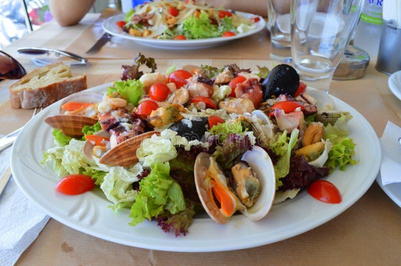 Ελληνική σαλάτα Κρήτη στοκ φωτογραφία