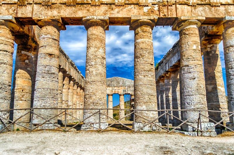Ελληνικός ναός Segesta στοκ φωτογραφία με δικαίωμα ελεύθερης χρήσης