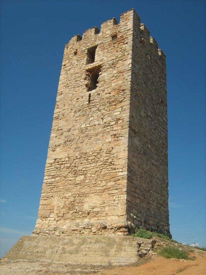 Ελληνικός πύργος Ancien στοκ εικόνα