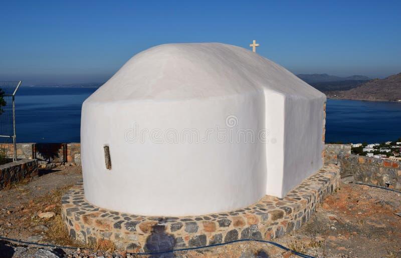 Ελληνικό παρεκκλησι στοκ εικόνες