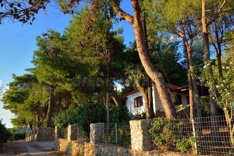 Ελληνικό χωριό στοκ φωτογραφίες