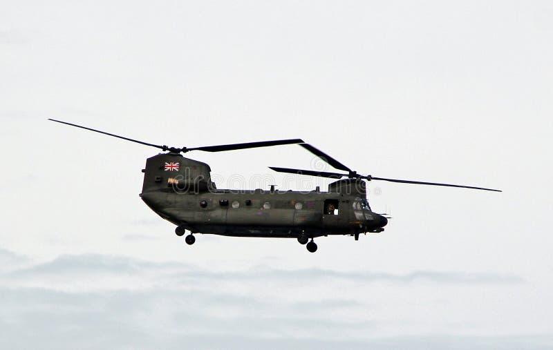 Ελικόπτερο σινούκ στοκ εικόνες με δικαίωμα ελεύθερης χρήσης