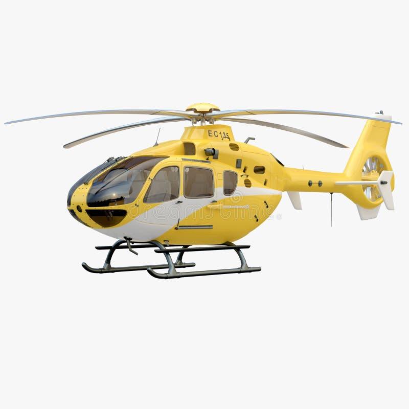 Ελικόπτερο διανυσματική απεικόνιση