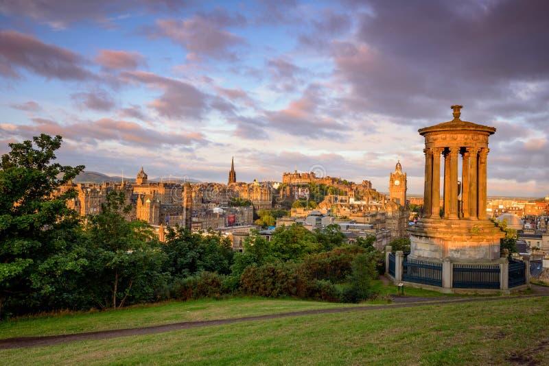Εδιμβούργο Castle, Σκωτία UK στοκ φωτογραφία με δικαίωμα ελεύθερης χρήσης
