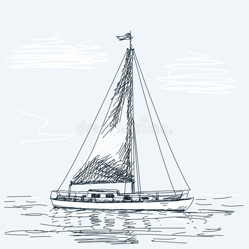 δεδομένου ότι η ανασκόπηση είναι μπλε οι βάρκες βαρκών μπορούν να κτυπήσουν σκοτεινό κ απεικόνιση αποθεμάτων