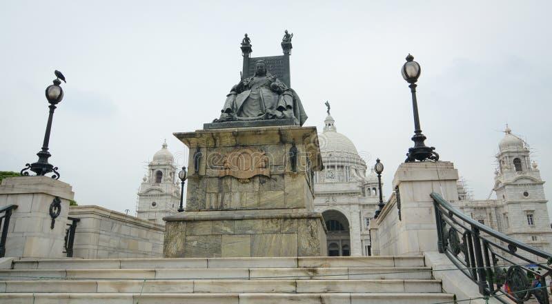 δεδομένου ότι το κτήριο της Μεγάλης Βρετανίας κατασκεύασε τη μεγάλη της Ινδίας βασίλισσα μουσείων μνημείων kolkata μαρμάρινη αναμ στοκ εικόνες με δικαίωμα ελεύθερης χρήσης