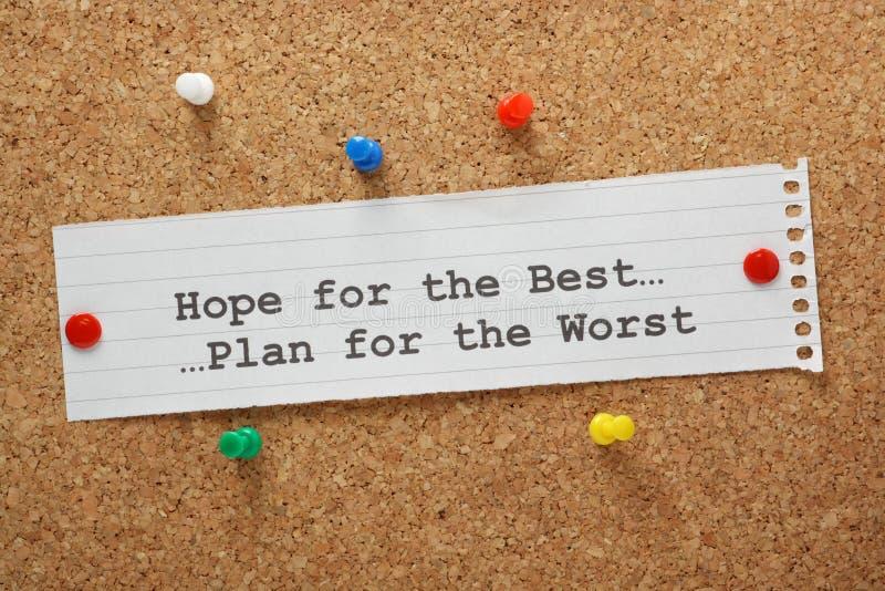 Ελπίδα για το καλύτερο στοκ εικόνες
