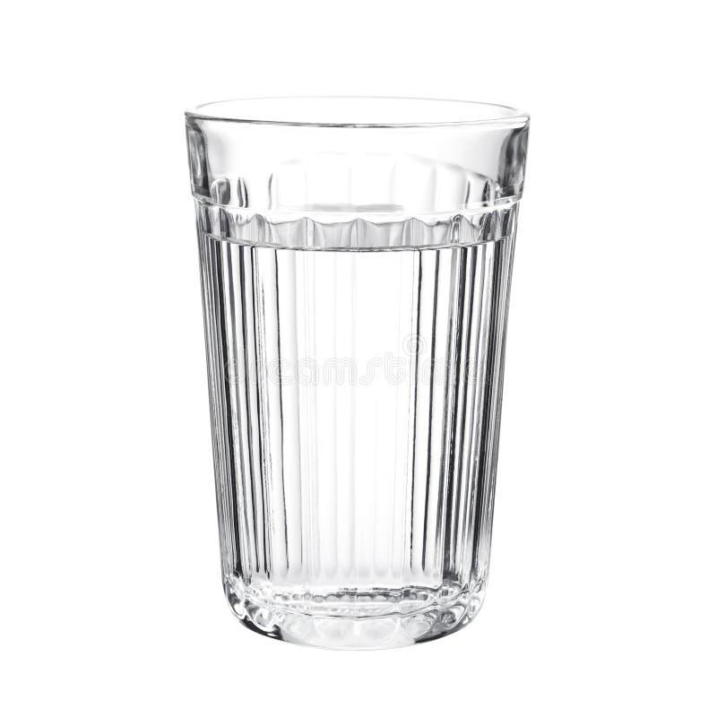 Εδροτομημένο πολύτιμους λίθους γυαλί με το νερό στοκ φωτογραφία με δικαίωμα ελεύθερης χρήσης