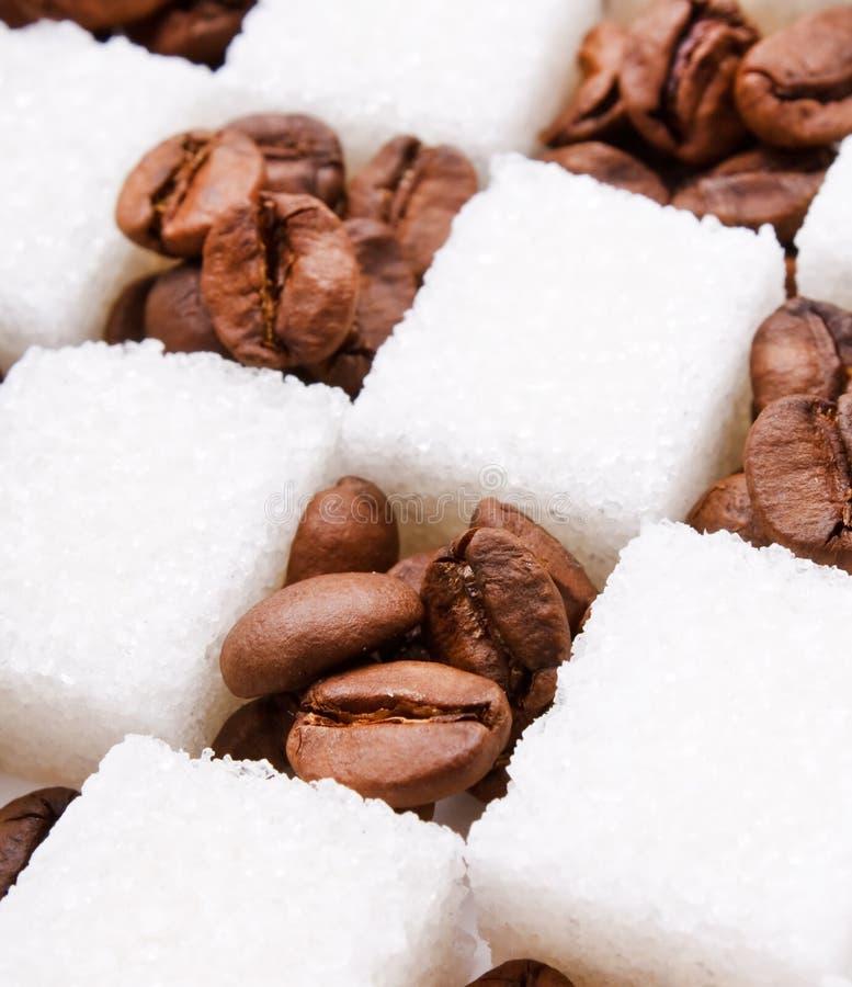 Download ζάχαρη καφέ φασολιών στοκ εικόνα. εικόνα από τονωτικό - 13187531