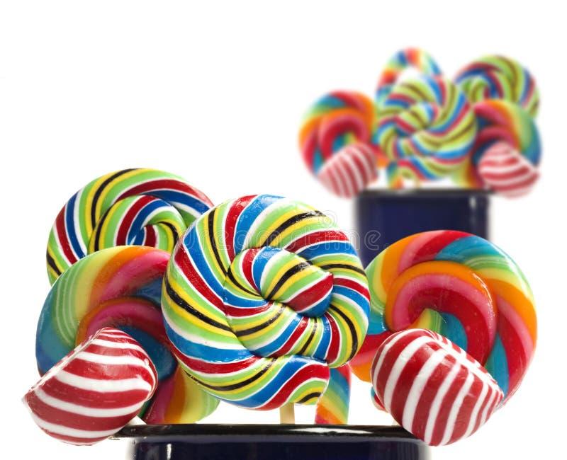 ζάχαρη συλλογής καλάμων καραμελών lollipop στοκ εικόνες