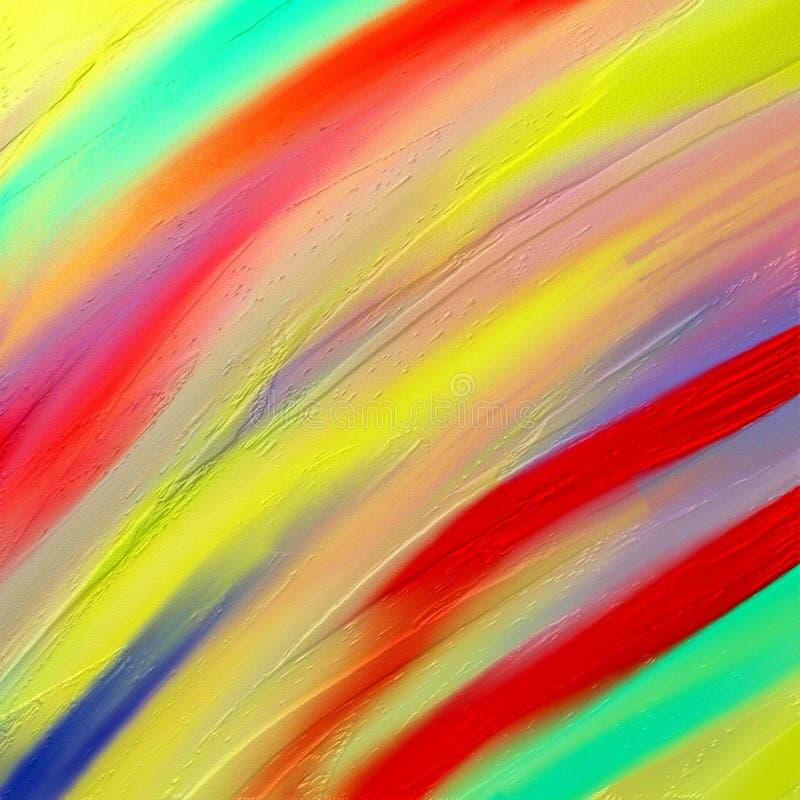Ζήστε χρωματισμένα λωρίδες στοκ φωτογραφία με δικαίωμα ελεύθερης χρήσης