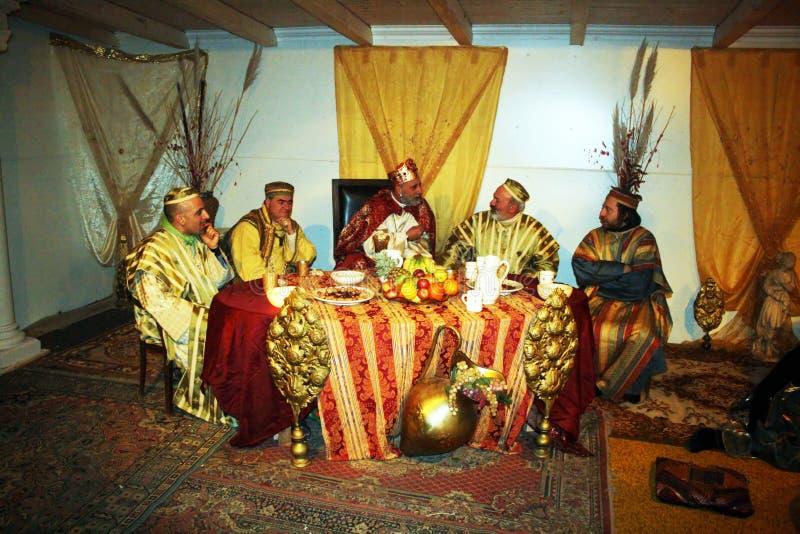 ζήστε nativity στοκ φωτογραφίες με δικαίωμα ελεύθερης χρήσης