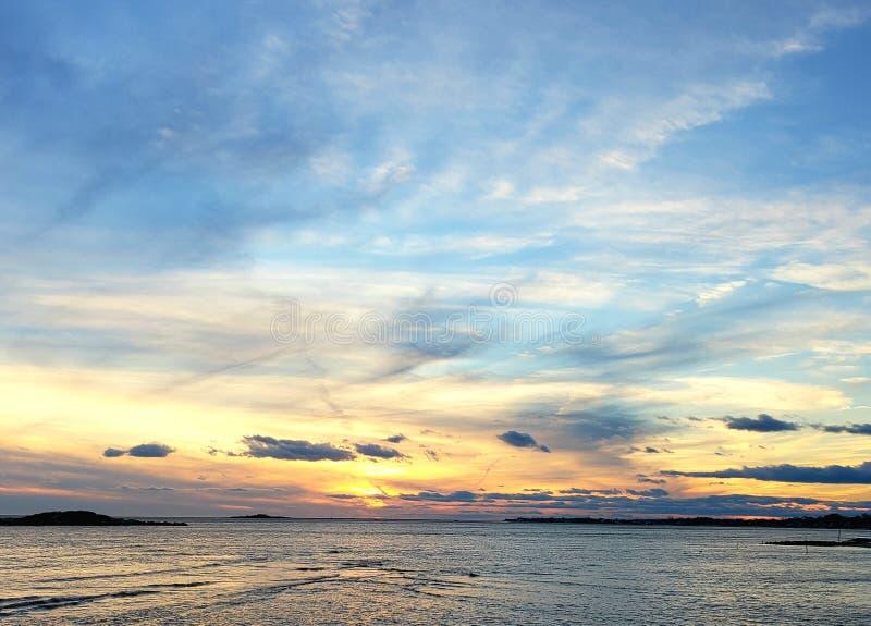 Ζαλίζοντας ηλιοβασίλεμα στοκ εικόνα με δικαίωμα ελεύθερης χρήσης