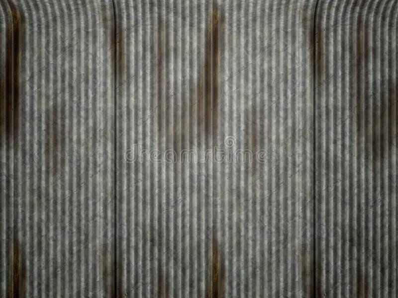 ζαρωμένος σίδηρος απεικόνιση αποθεμάτων