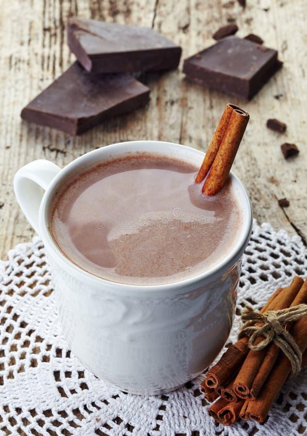 Ζεστό ποτό σοκολάτας στοκ εικόνες με δικαίωμα ελεύθερης χρήσης