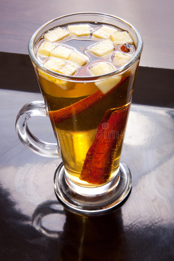 Ζεστό ποτό Cidar στοκ φωτογραφίες