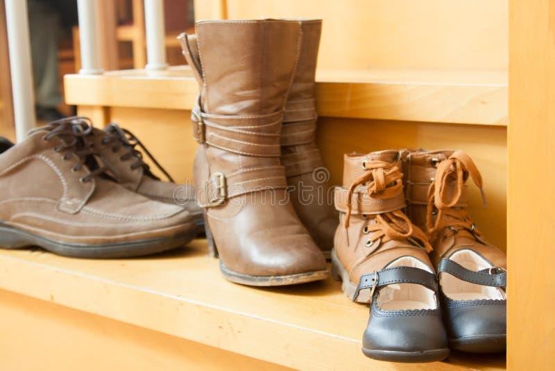 Ζευγάρια των παπουτσιών στοκ εικόνες
