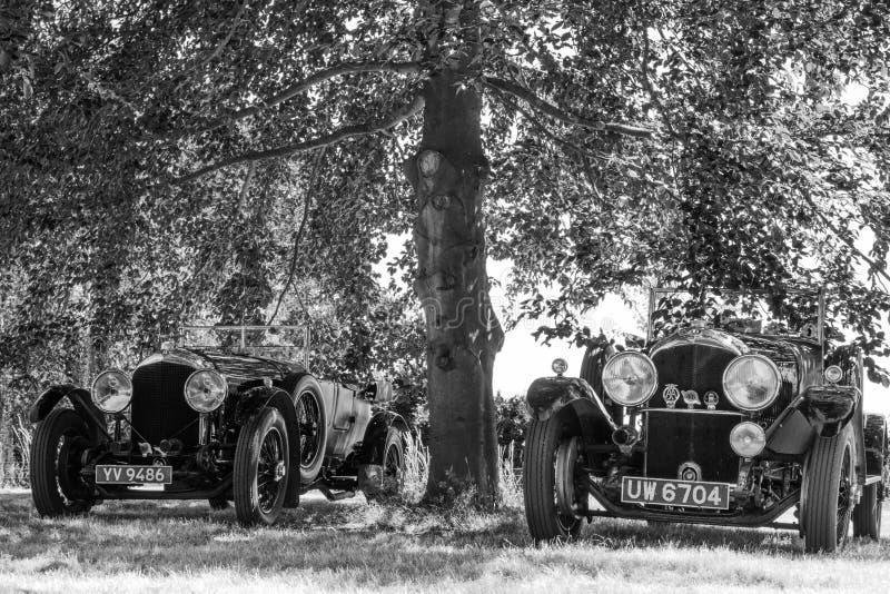 Ζευγάρι τον τελευταίο καιρό το 1920 ` s Benteys στοκ φωτογραφία