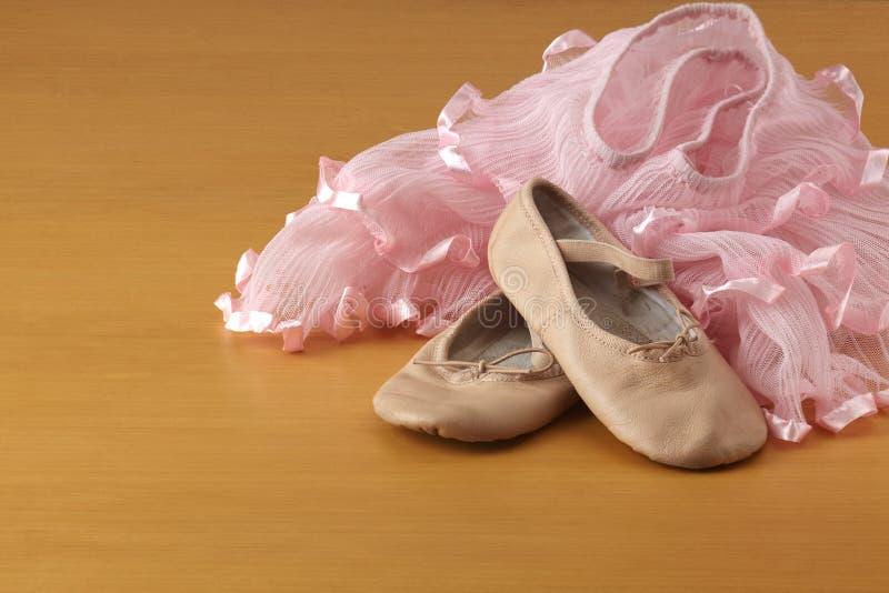 Ζευγάρι των παπουτσιών μπαλέτου στοκ φωτογραφία