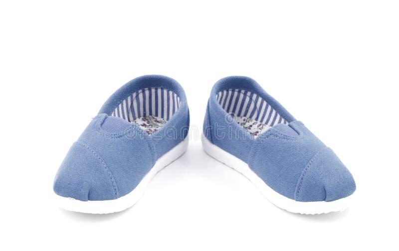 Ζευγάρι των παπουτσιών σε ένα άσπρο υπόβαθρο στοκ φωτογραφία με δικαίωμα ελεύθερης χρήσης