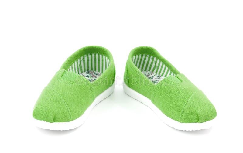 Ζευγάρι των παπουτσιών σε ένα άσπρο υπόβαθρο στοκ εικόνες