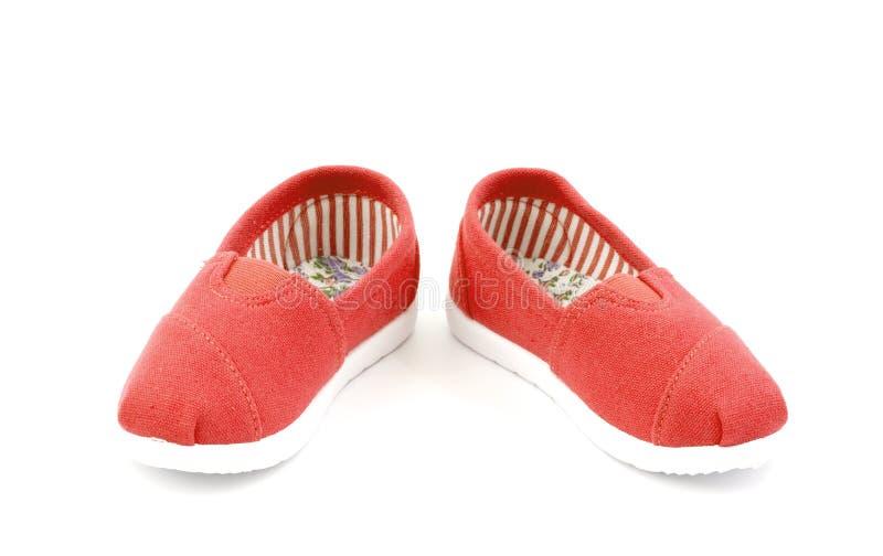 Ζευγάρι των παπουτσιών σε ένα άσπρο υπόβαθρο στοκ εικόνα με δικαίωμα ελεύθερης χρήσης