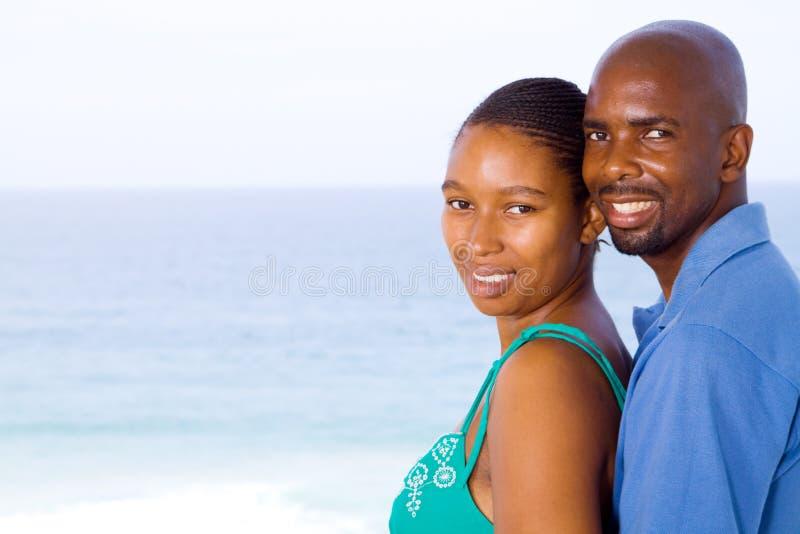 Ζεύγος αφροαμερικάνων στοκ φωτογραφίες