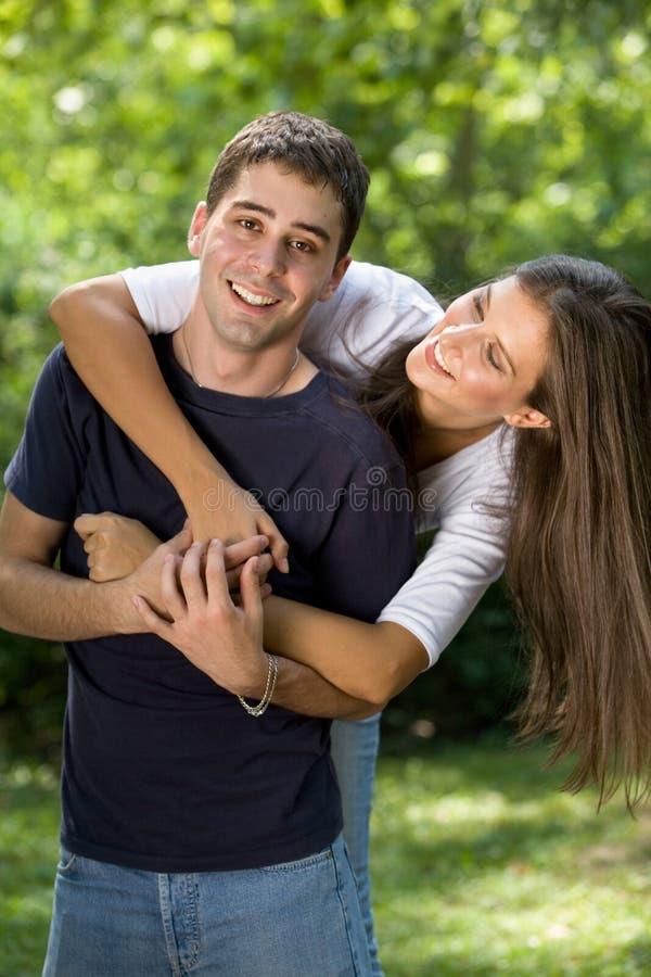 Ζεύγος ερωτευμένο στοκ φωτογραφία