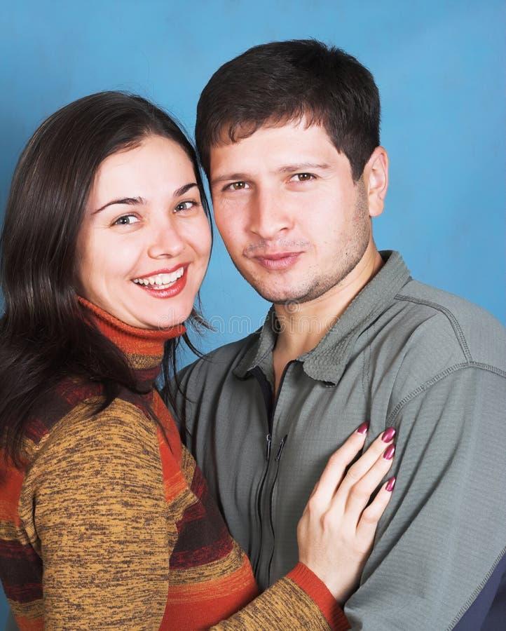 ζεύγος ευτυχές στοκ φωτογραφία με δικαίωμα ελεύθερης χρήσης