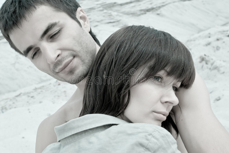 ζεύγος λυπημένο στοκ φωτογραφίες με δικαίωμα ελεύθερης χρήσης