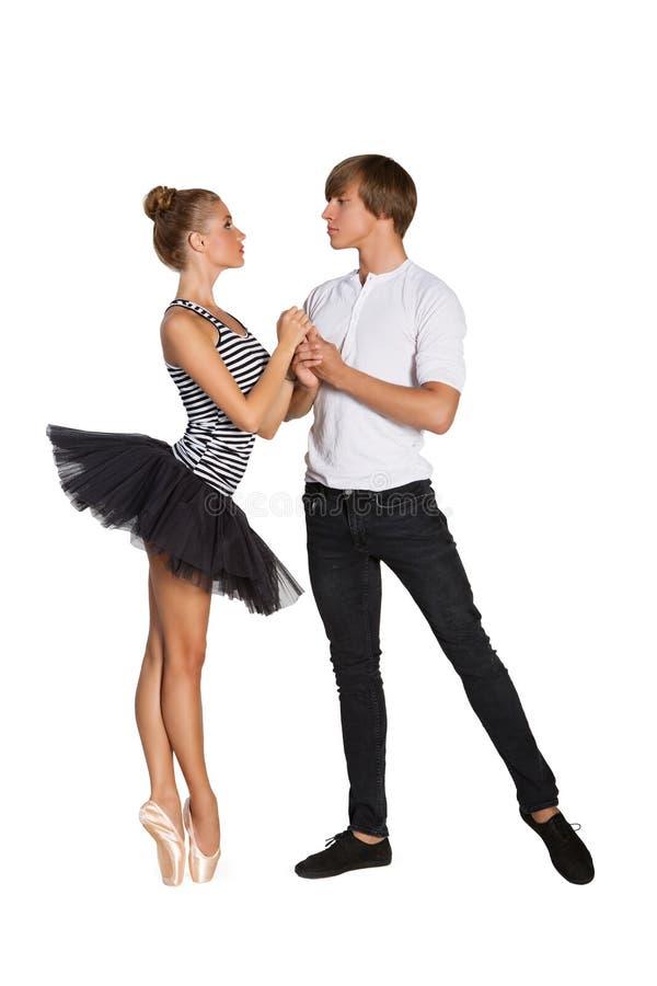Ζεύγος μπαλέτου στοκ εικόνα με δικαίωμα ελεύθερης χρήσης