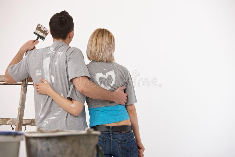 ζεύγος που φαίνεται λε&ups στοκ φωτογραφία με δικαίωμα ελεύθερης χρήσης