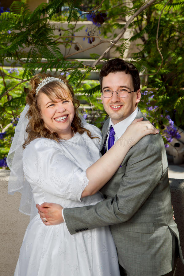 Ζεύγος στη ημέρα γάμου στοκ εικόνες με δικαίωμα ελεύθερης χρήσης