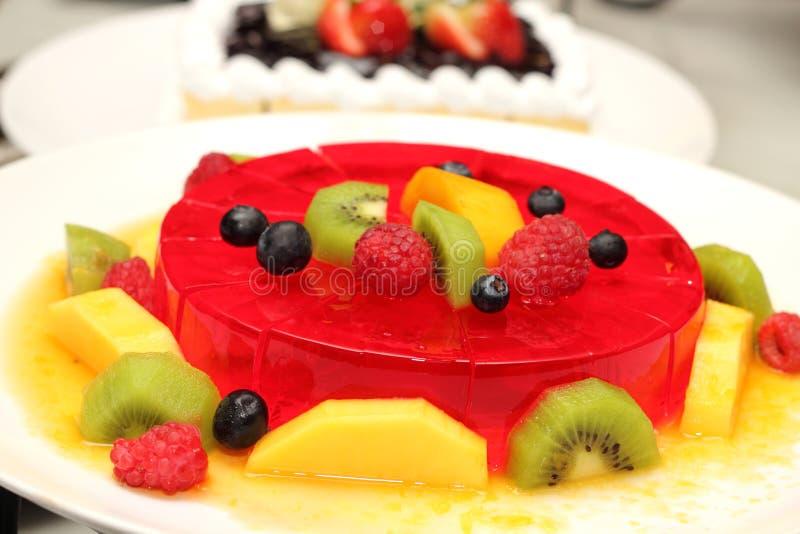 Ζελατίνα φραουλών στοκ φωτογραφία με δικαίωμα ελεύθερης χρήσης