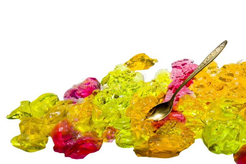 Ζελατίνα χρώματος στοκ εικόνα