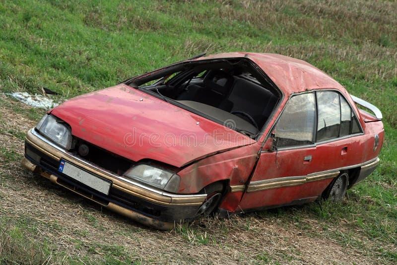 ζημία αυτοκινήτων στοκ φωτογραφίες