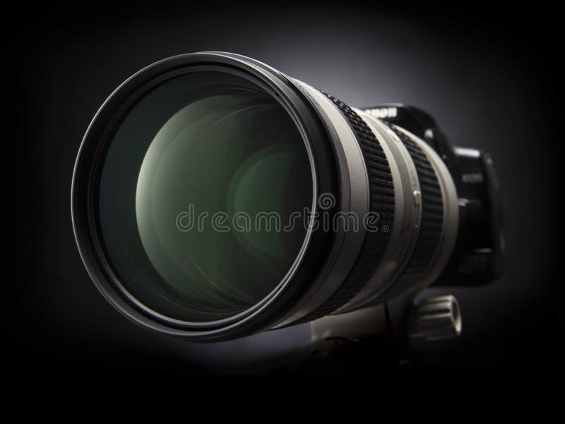 ζουμ φωτογραφικών μηχανών στοκ εικόνα