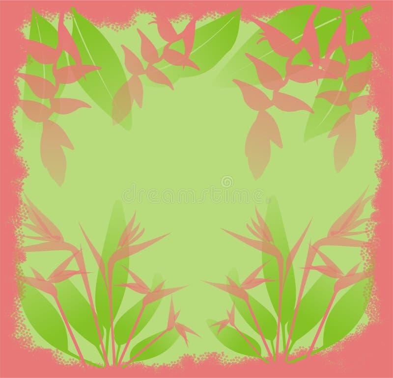 ζούγκλα λουλουδιών ελεύθερη απεικόνιση δικαιώματος