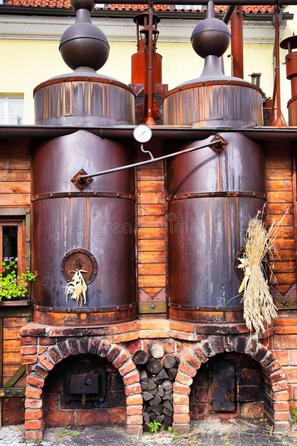 ζυθοποιείο παλαιό στοκ εικόνα