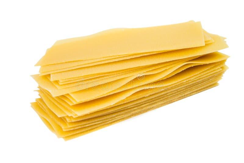 Ζυμαρικά για το lasagna στοκ εικόνες