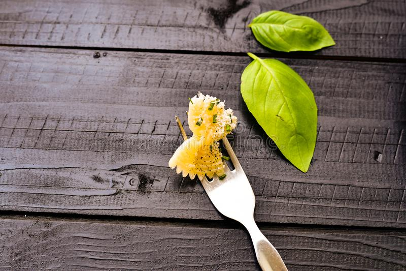 Ζυμαρικά Farfalle στοκ φωτογραφία με δικαίωμα ελεύθερης χρήσης