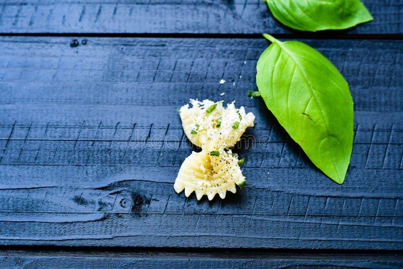 Ζυμαρικά Farfalle στοκ εικόνες με δικαίωμα ελεύθερης χρήσης