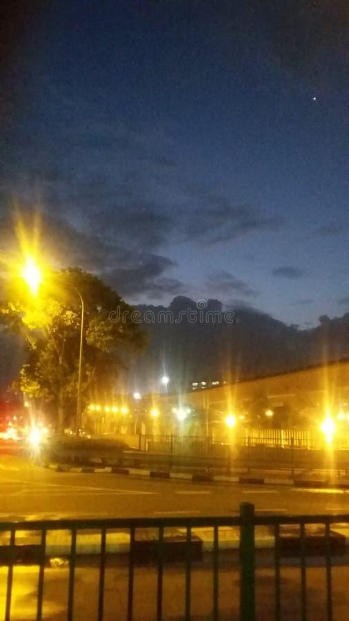 Ζωή νύχτας πόλεων στοκ φωτογραφία με δικαίωμα ελεύθερης χρήσης