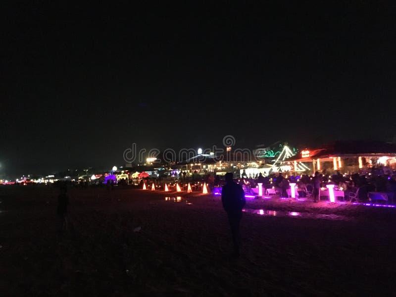 ζωή νύχτας του goa στοκ φωτογραφίες με δικαίωμα ελεύθερης χρήσης