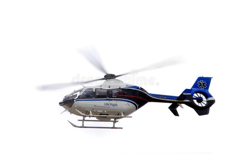 ζωή πτήσης helecopter στοκ φωτογραφία