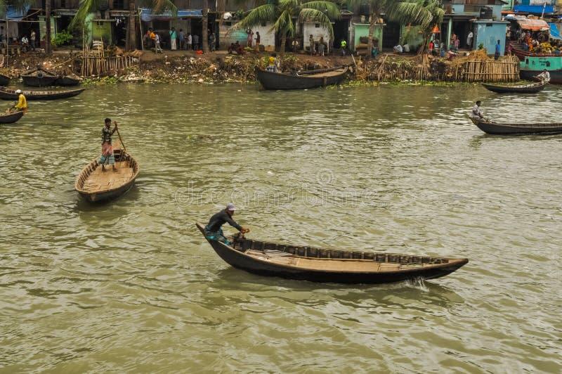 Ζωή σε Dhaka στο Μπανγκλαντές στοκ εικόνες