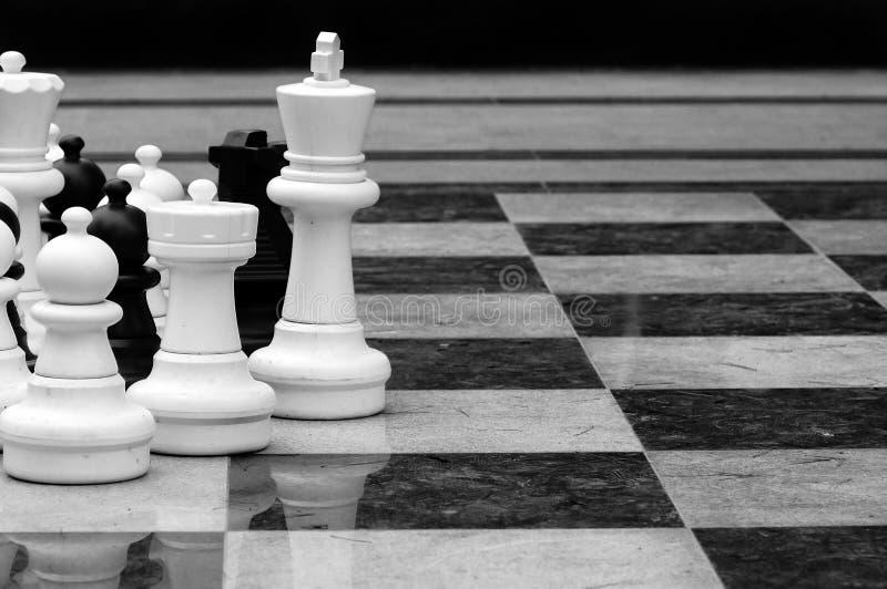 ζωή σκακιού - μέγεθος στοκ φωτογραφίες