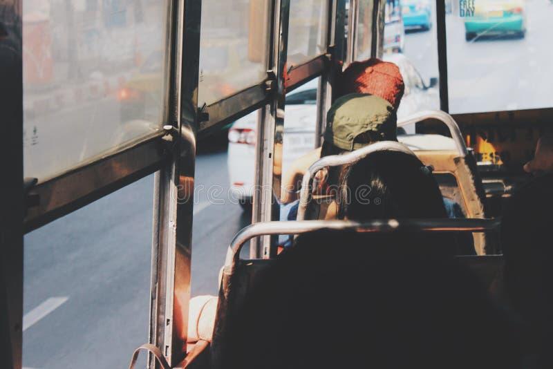 Ζωή στο λεωφορείο στοκ εικόνες