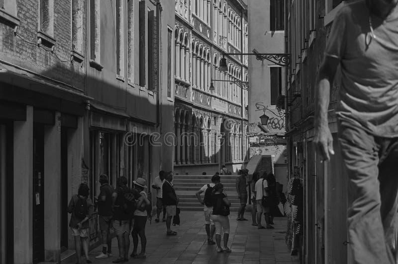 Ζωή στο ιστορικό χωριό στοκ φωτογραφία
