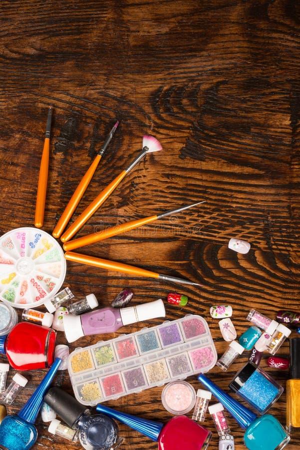 Ζωή τέχνης καρφιών ακόμα στοκ φωτογραφίες με δικαίωμα ελεύθερης χρήσης